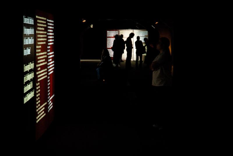 Sombra en la exposición